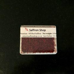 2 gr pure saffron