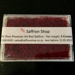 5 gr pure saffron